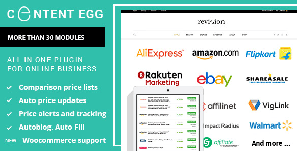 Content Egg Nulled – All In One Plugin For Affiliate